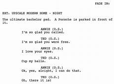 Sample Screenplay 15 Screenplay Examples From Each Genre To Download For Free