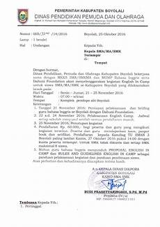 info sma smk kabupaten boyolali undangan kegiatan english