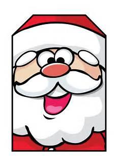 Santa Tag Free Printable Christmas Gift Tags