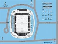 Minnesota United Allianz Field Seating Chart Allianz Field Map Minnesota United Fc