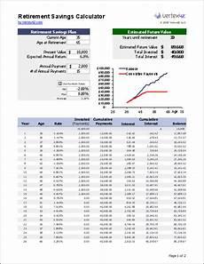 Excel Retirement Spreadsheet Retirement Planning Excel Spreadsheet