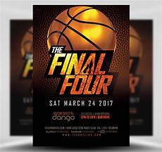 Basketball Flyer The Final Four Basketball Flyer Template Flyerheroes