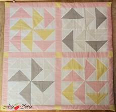 couverture en patchwork aux couleurs pastel balice