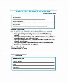 Tenant Invoice 15 Rent Invoices Free Word Pdf Format Download