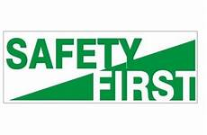 Hard Hat Decal Safety First