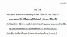 Work Cited Examples Mla Formatting Quote Citations And Works Cited