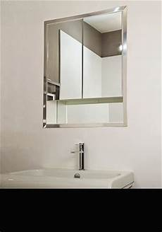 how to install a recessed bathroom cabinet in the wall