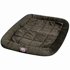 42 inch charcoal crate pet bed mat by