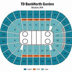 Td Garden Seating Chart U2 Td Garden Seating Chart Views And Reviews Boston Bruins