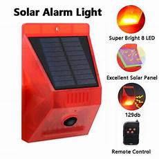 Solar Motion Sensor Light With Alarm Motion Sensor Led Outdoor Solar Lights Alarm Light With