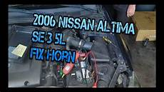 2013 Nissan Altima Horn Location by 2006 Nissan Altima Se 3 5l No Horn