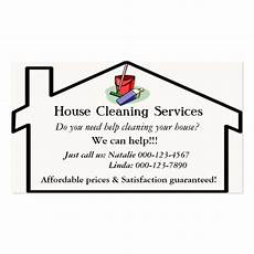 House Cleaning Business Cards Ideas House Cleaning Services Business Card Template Zazzle