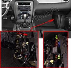 2014 Mustang Light Fuse Location Ford Mustang 2010 2014