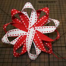 How To Fold Ribbon Tutorial The Loopy Hair Bow A Party Studio