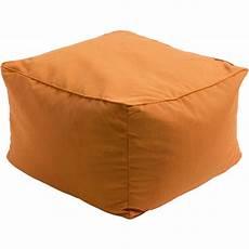 Benton Sofa Png Image by Piper Outdoor Pouf Orange Gdh The Decorators