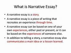 Narrative Essay Definition And Examples How To Write A Narrative Essay Simple Tips