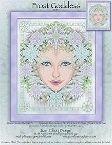 Joan Elliott Cross Stitch Charts Frost Goddess From Joan Elliott Cross Stitch Charts