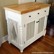 diy litter cabinet hides litter box