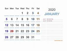 Daily Calendar 2020 Excel 2020 Excel Calendar Free Download Excel Calendar Templates