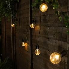 Battery Outside Christmas Tree Lights Outdoor Battery Festoon Lights 10 Warm White Leds Clear