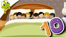 ten in the bed nursery rhyme for learn numbers