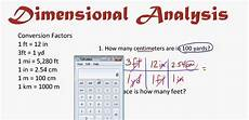 Dimensional Analysis Chart Unit Conversions Made Easy Aka Dimensional Analysis Or