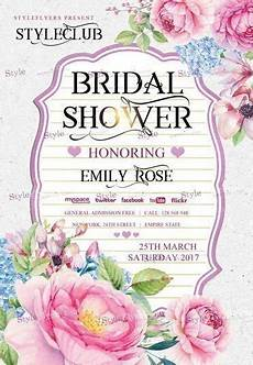 Bridal Shower Flyer Bridal Shower Psd Flyer Template 17944 Styleflyers