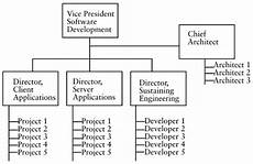 Software Development Organization Chart Sample Organizational Structures Software Development