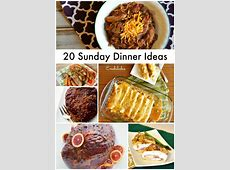 20 Quick and Easy Sunday Dinner Recipe Ideas   The Rebel Chick