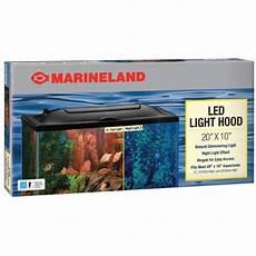 10 Gallon Fish Tank Light Hood Marineland Led Light Hood 20 Inch By 10 Inch Five