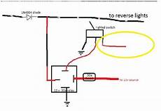 How To Make Reverse Lights Flash Backup Light Manual Override Switch Hidplanet The