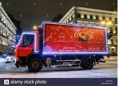 Coca Cola St Petersburg Fl St Petersburg Russia 21st Dec 2017 A Truck Of The Coca