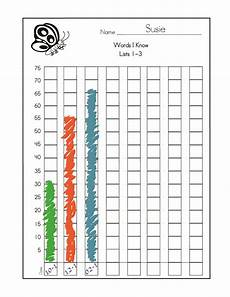 Chart For Students To Monitor Progress Free Dolch Sight Word Assessment And Progress Monitoring