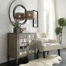 georgina grey 2 door mirrored cabinet homehills cabinets
