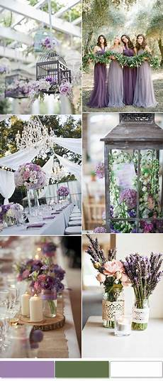 top 8 wedding colors in spring 2019 lavender green