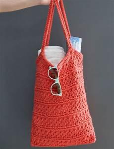 breezy knit market bag allfreeknitting