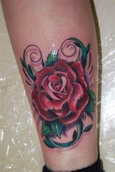 Rose Designs On Leg Rose Tattoos Page 6