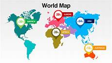 World Map Template Powerpoint Download World Map With All Countries Presomakeover