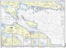 Great Straits Chart Noaa Chart 14881 Detour Passage To Waugoshance Pt