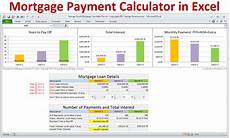 How To Calculate Mortgage Payment In Excel Mortgage Calculator With Taxes Insurance Pmi Hoa Amp Extra