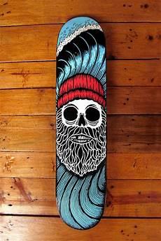 Diy Longboard Deck Design 40 Diy Skateboard Deck Art Ideas To Look Extra Cool Obsigen
