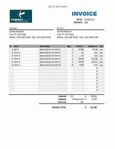 Sale Invoice Sales Invoice Templates 27 Examples In Word And Excel