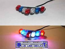 1 10 Police Light Bar 1 24 Scale Custom Diecast Police Model Led