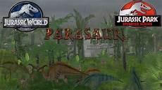 jpog jurassic world mod 1 parasaur s