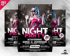 Club Flyer Maker Online Free Night Party Flyer Design Free Psd Psddaddy Com