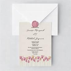 skabeloner til bryllupsinvitationer simple tulips bryllupsinvitationer bryllupsinvitation
