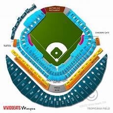 Rays Seating Chart Tropicana Field Tropicana Field Seating Chart And Tickets Event Information