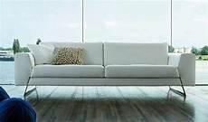pon un sof 225 de piel blanco en tu vida