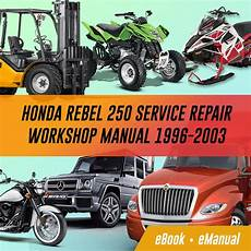 Rebel Cmx250 Rebel Service Repair Workshop Manuals