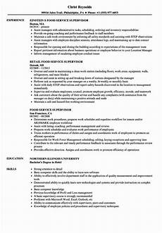 Retail Worker Job Description 20 Food Service Worker Job Description Resume In 2020